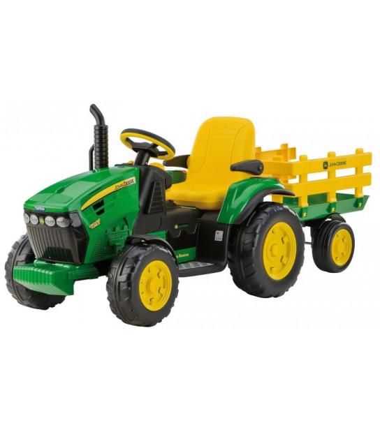Peg Perego JOHN DEERE GROUND FORCE traktor na akumulator z przyczepą