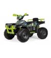 POLARIS SPORTSMAN 850 LIME 24V najnowszy pojazd PEG PEREGO, największy quad na akumulator