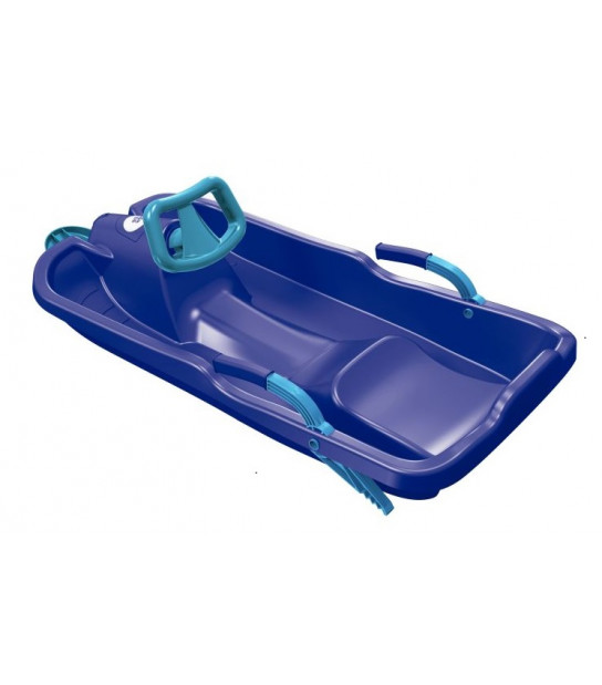 PLASTKON SKIBOB SANKI sterowany bobslej z hamulcem i kierownicą