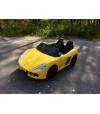 BABY DRIFT YELLOW sportowe auto na akumulator 24V