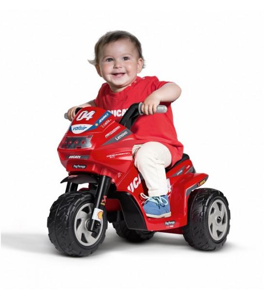 MINI DUCATI motor trójkołowy na licencji DUCATI dla najmłodszych od 1 roku